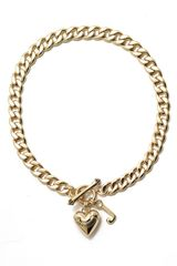 Juicy Couture Starter Charm Necklace - Lyst