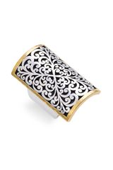 Lois Hill 2-tone Rectangular Ring (nordstrom Exclusive) - Lyst
