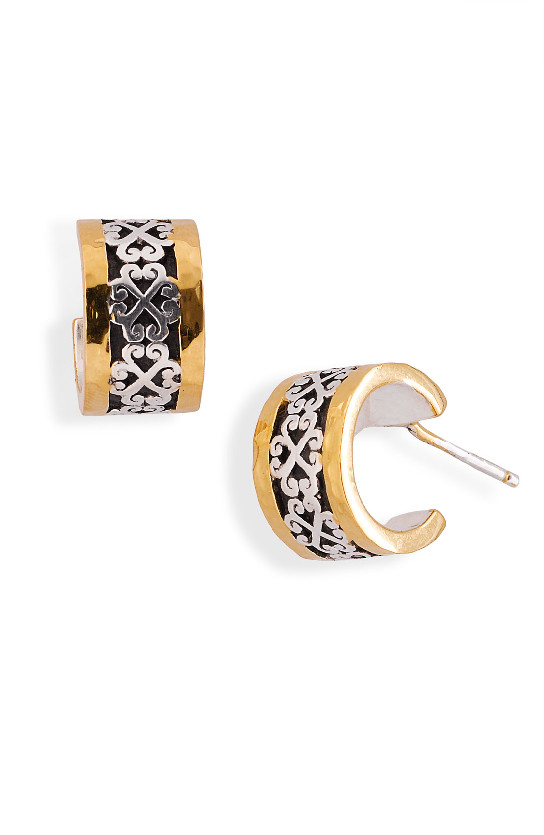 Lois Hill 2-tone Small Hoop Earrings (nordstrom Exclusive ...