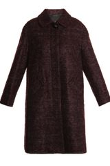 Marc Jacobs Mohair and Wool Coat - Lyst