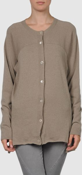 Marni Cardigans in Brown (steel) - Lyst