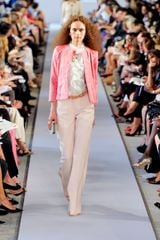 Oscar de la Renta Spring 2012 Rose Wide Legged Pants - Lyst