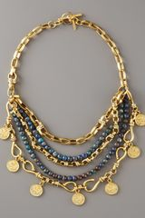 Paige Novick Multi-strand Coin Necklace - Lyst