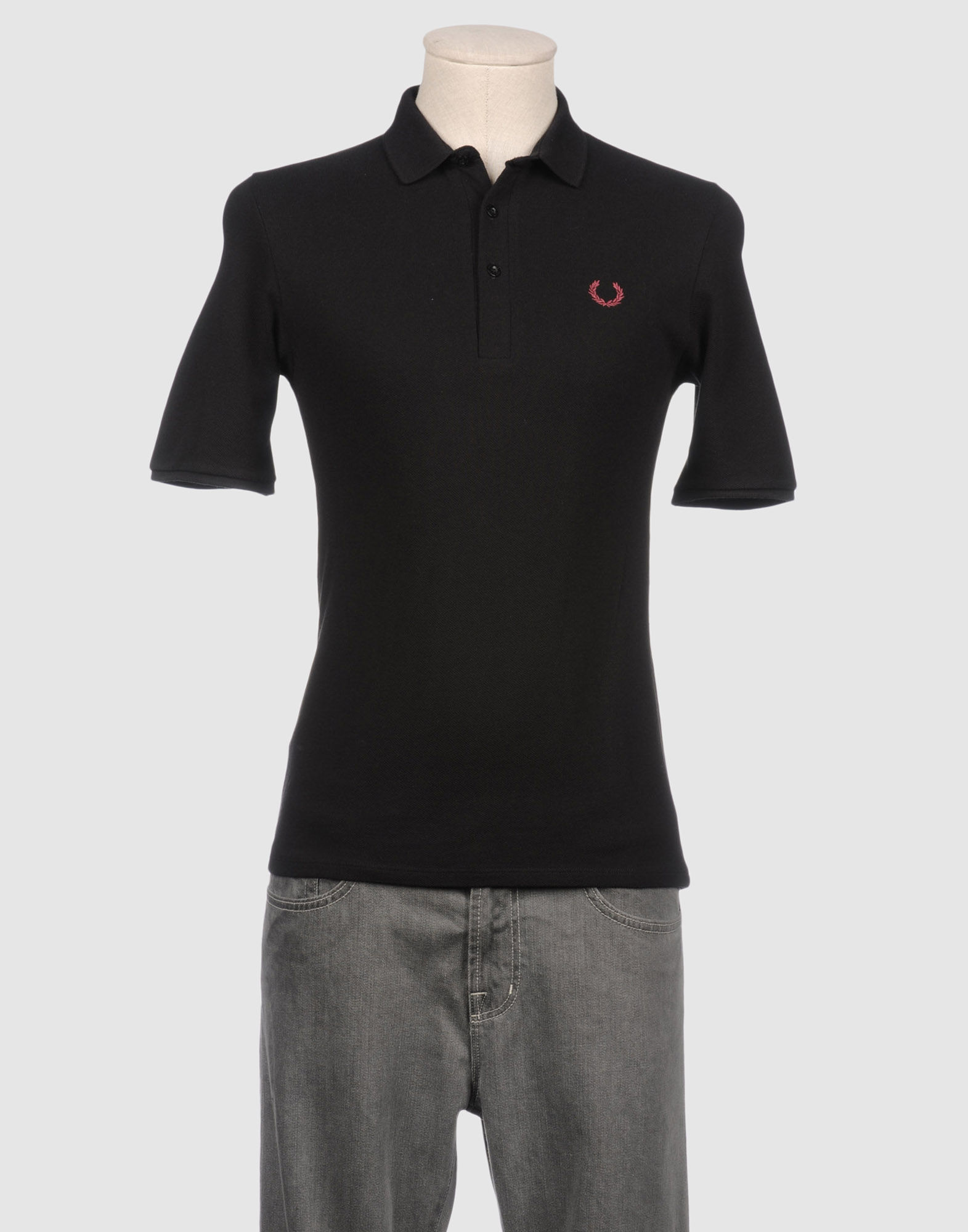 Raf Simons Fred Perry Polo Shirts in Black for Men (orange ...