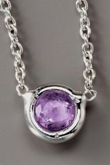 Roberto Coin Amethyst Necklace - Lyst