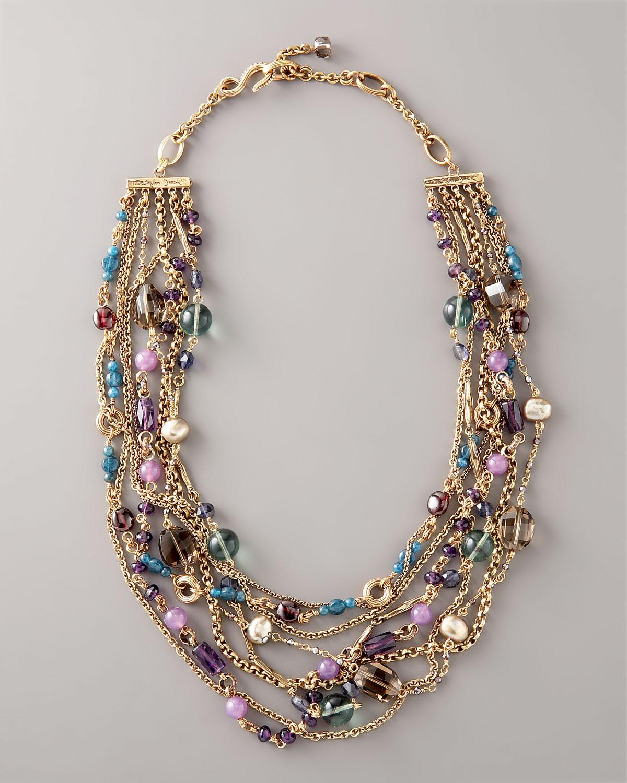 Lyst Stephen Dweck Multi Bead Necklace