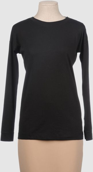 Theory Long Sleeve T Shirts - Lyst