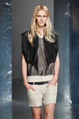 Theyskens' Theory Spring 2012 Black Sleeveless Jacket - Lyst
