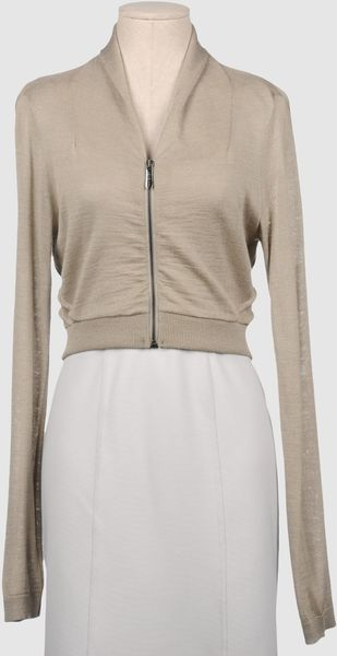 Twin-set Simona Barbieri Cardigans in Beige - Lyst