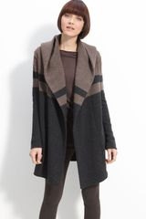 Vince Colorblock Blanket Sweater