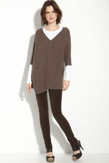 Vince Ribbed Sweater - Lyst