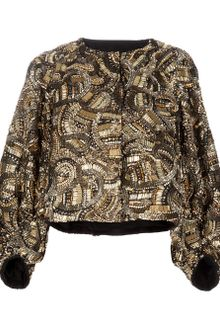 Dries Van Noten Embellished Jacket - Lyst