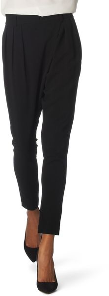 Givenchy Cropped Trousers in Black - Lyst