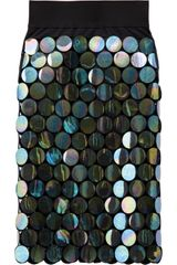 Marc Jacobs Iridescent Paillette Skirt - Lyst