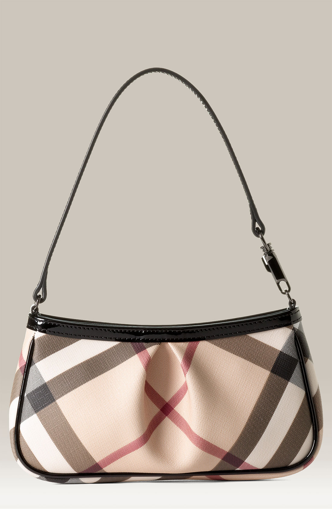 Burberry Small Check Print Shoulder Bag 2