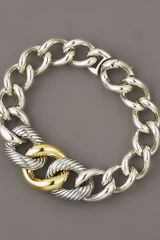 David Yurman Curb Chain Bracelet, Extra Large - Lyst