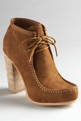 Dolce Vita Leather Lace-up Boots - Lyst
