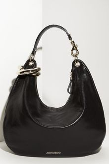 Jimmy Choo Solar Calf - Large Calfskin Leather Hobo - Lyst
