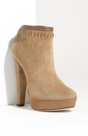 Jimmy Choo Evans Whipstitch Ankle Boot - Lyst