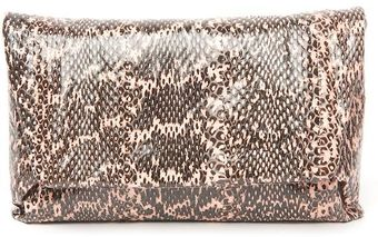 Lanvin Snake Evening Clutch - Lyst