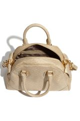 Marc By Marc Jacobs Ozzie  Baby Aidan Faux Leather Tote in Beige (faded khaki) - Lyst