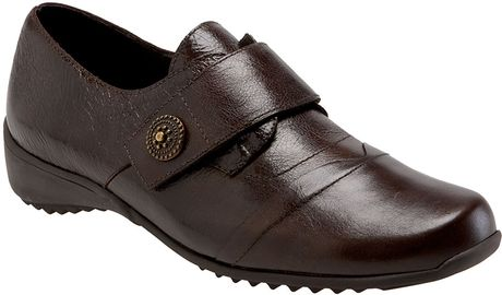 Munro Tour Flat in Brown (brown leather) - Lyst