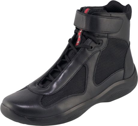 Prada Nevada Bike Sneaker in Black for Men (nero) - Lyst