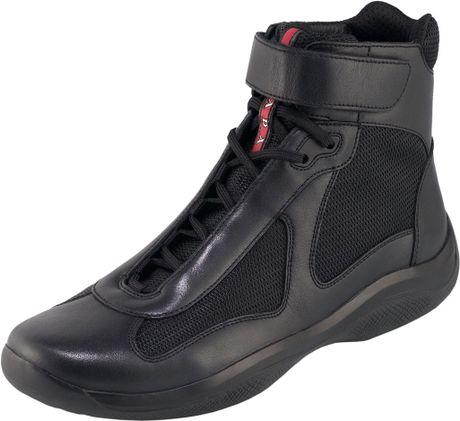 Prada Nevada Bike Sneaker in Black for Men (nero)