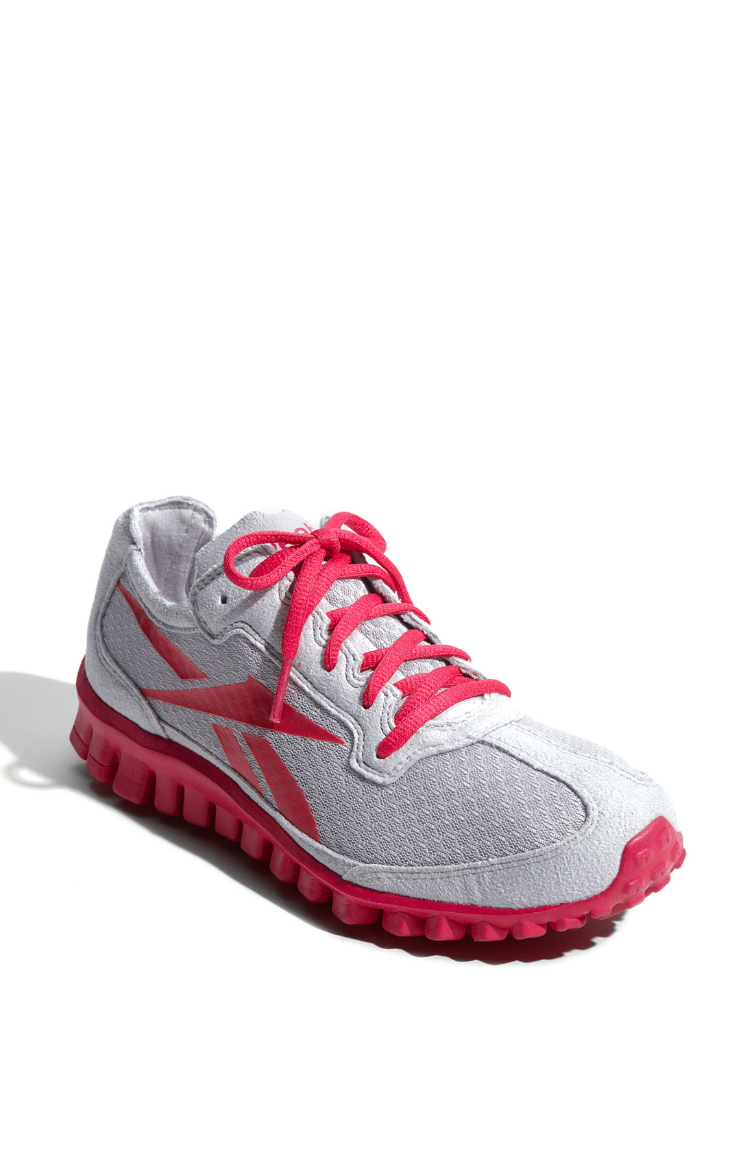 Reebok Realflex Minimal Running Shoe Women In Gray Grey