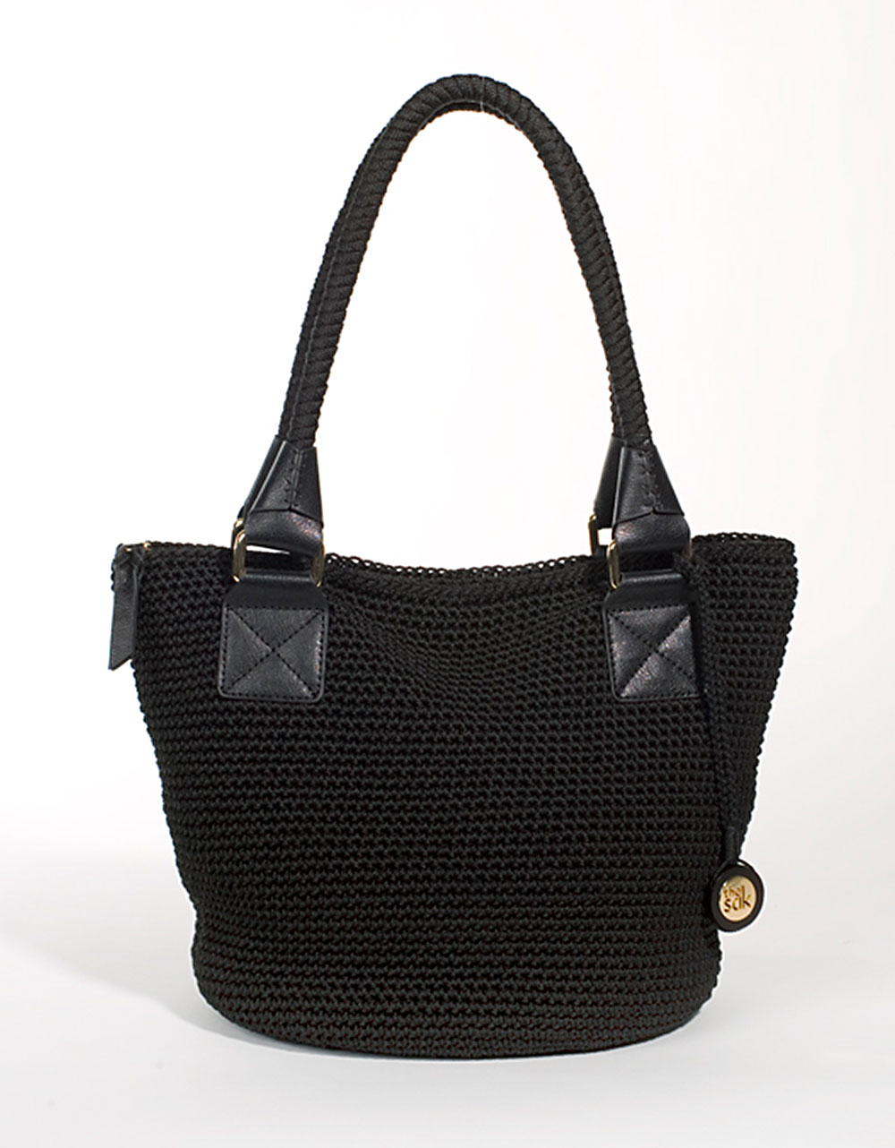 Crochet Bucket Bag : The Sak Cambria Crochet Bucket Tote Bag in Black Lyst