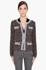 Alice + Olivia Regana Boucle Sweater - Lyst