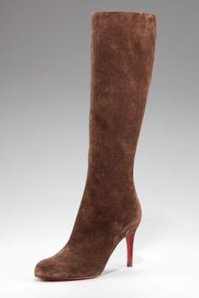 Christian Louboutin Simple Botta Suede Boot - Lyst