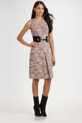 Milly Florentine Tweed Rebecka Dress - Lyst