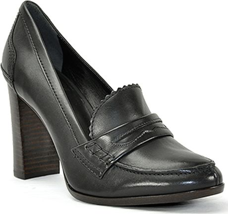 Jaclyn Smith Women's Bincy Heels & Pumps - Black, Size: 9. Take polished style to new heights with the women's Bincy Heels & Pumps from Jaclyn Smith. Boasting a high heel and sleek almond toe, this loafer displays a modern take on the classic look. A metallic buckle accents the instep for a hint of shine.
