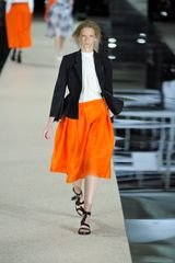 Acne Spring 2012 Orange MidLength Skirt in Orange - Lyst