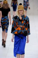 Burberry Prorsum Spring 2012 Brown Belt - Lyst