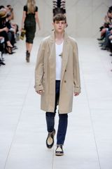 Burberry Prorsum Spring 2012 Black And Beige Lace-Up Oxford Shoes With Raffia Uppers - Lyst