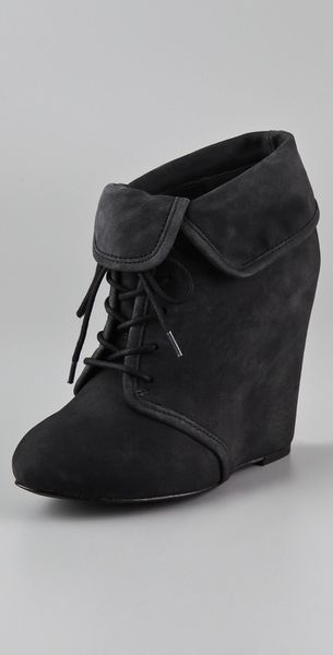Elizabeth And James Manor Wedge Bootie - Lyst