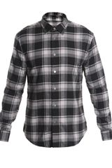 John Varvatos Oversized-check Shirt - Lyst
