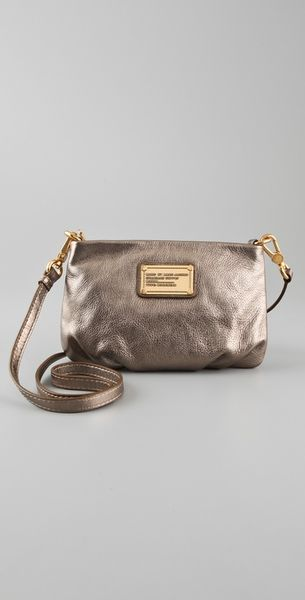 Marc By Marc Jacobs Classic Q Metallic Percy Bag - Lyst
