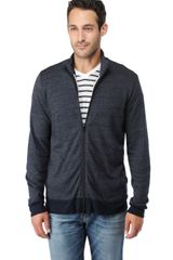 Splendid Triblend Vintage Fleece Track Jacket - Lyst