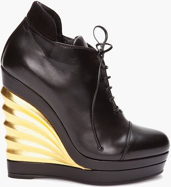 Yves Saint Laurent Robyn Wedges - Lyst