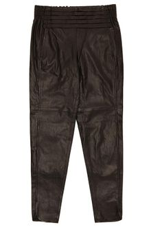 Alexander Wang Leather Track Pants - Lyst