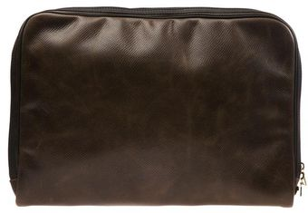 Browns Leather Laptop Case with Vintage Finish - Lyst