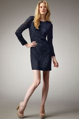 Diane Von Furstenberg Zarita Lace Dress, Deep Teal - Lyst