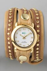 La Mer Collections Bali Stud Wrap Watch - Lyst