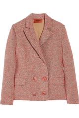 Missoni Laura Tweed Double-breasted Jacket - Lyst