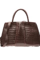 Nancy Gonzalez Crocodile Tote Bag - Lyst