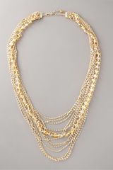 Neiman Marcus Exclusive Multi-strand Crystal Necklace - Lyst