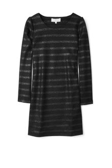 Vanessa Bruno Athé Lurex Wool Striped Dress - Lyst